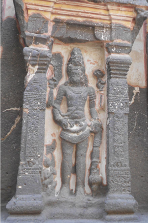 Fig.12.Harihara, lower storey, gudhamandapa. (Courtesy: Nikita Rathore)