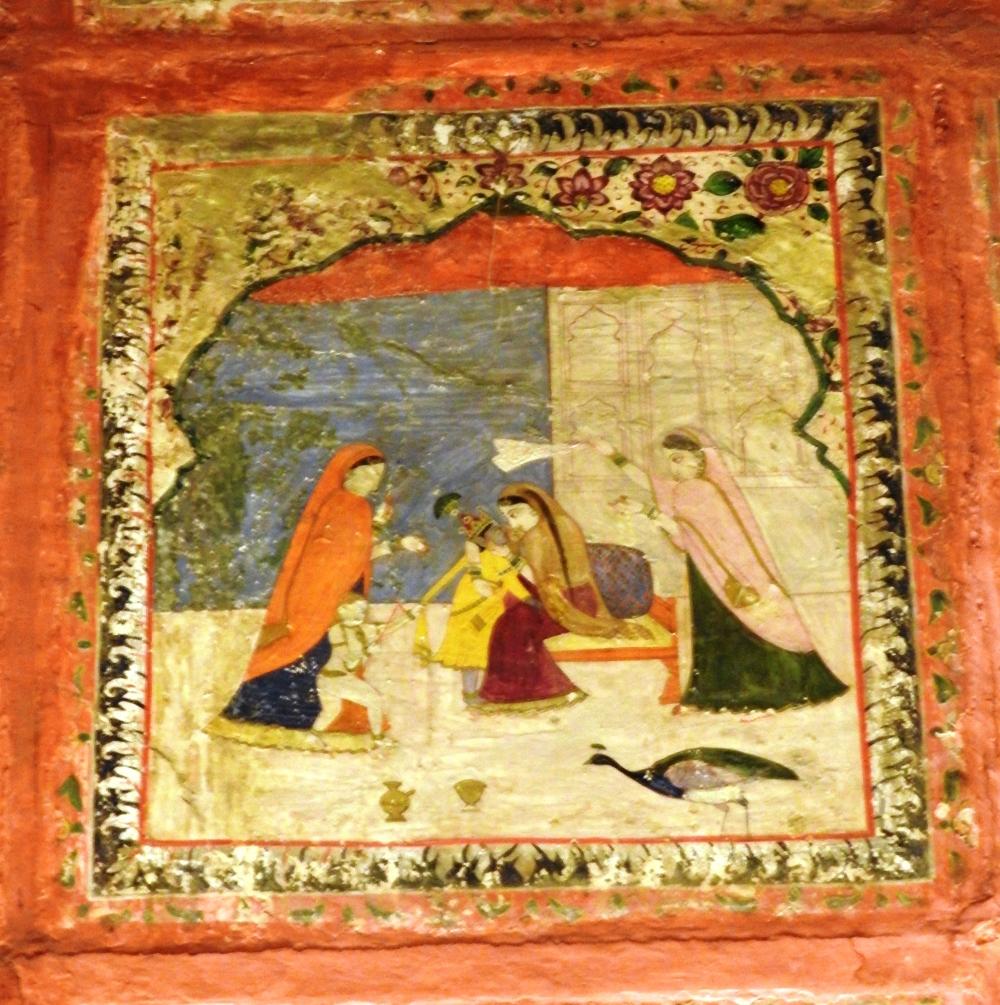 Fig. 2:Rang Mahal painting, National Museum, New Delhi