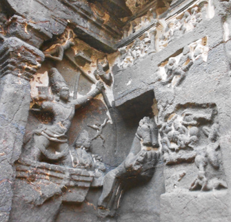 Fig.3.Tripurantaka, pratoli, gopura. (Courtesy: Nikita Rathore)