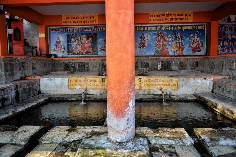 (चित्र–1प्रस्तुत चित्र उधमपुर रेलवे स्टेशन के पास स्थित सैन्कड अथवा साकन बावली का है, चित्र सौजन्य– अभिनव बहल, दिसम्बर२०२०)