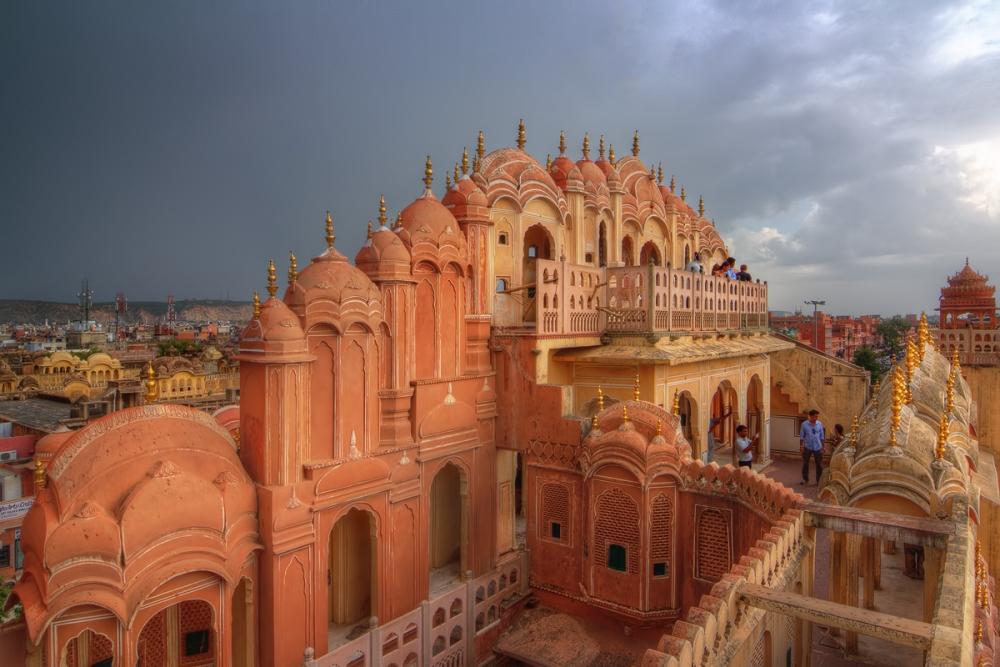 Hawa Mahal, Jaipur, Architecture, Maharaja Sawai Pratap Singh, Lal Chand Ustad