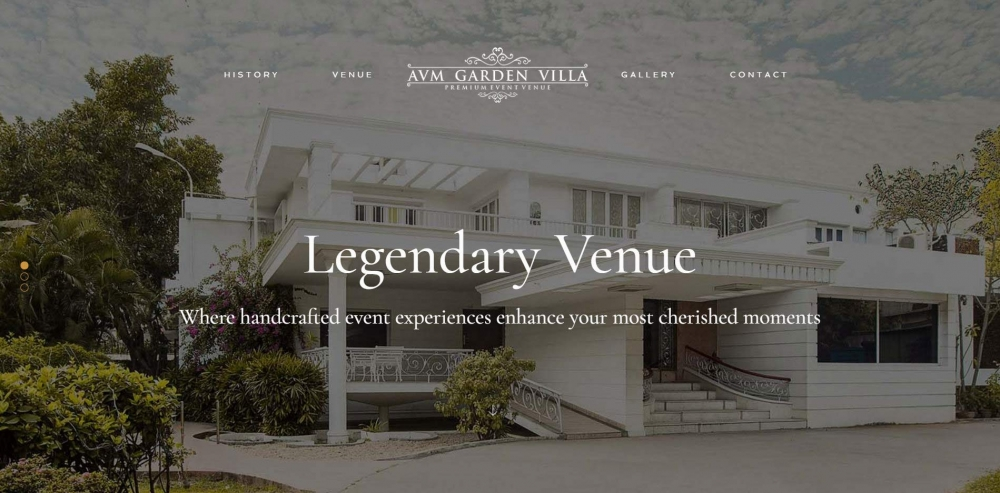 Fig. 7. Online screenshot of AVM Villas website (Courtesy: Senjuti Mukherjee)
