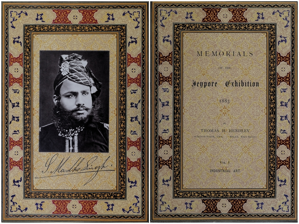 Pages 8 and 9 of 'Memorials of the Jeypore Exhibition, 1883', by Thomas H. Hendley, 4 Vols, Industrial Art (Courtesy: HathiTrust)