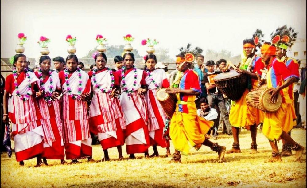 Jhurmur Dance, Tusu Puja, Tusu Festival