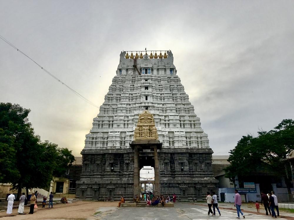 Kanchipuram Varadharaja Perumal temple in Tamil Nadu, Courtesy: IM3847/Wikimedia Commons