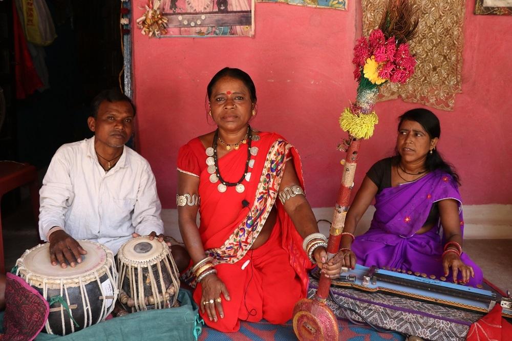 Pandavani Performer, Kumari Nishad