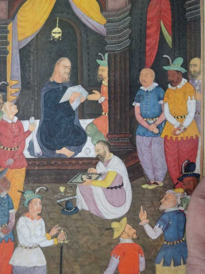 Life of Christ, Akbar, Mughal paintings, The Mirror of Holiness