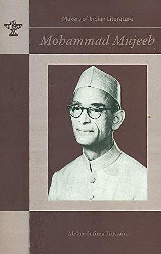A book on Prof M Mujeeb