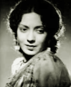 Photograph of a young Mubarak Begum, Courtesy: Youtube