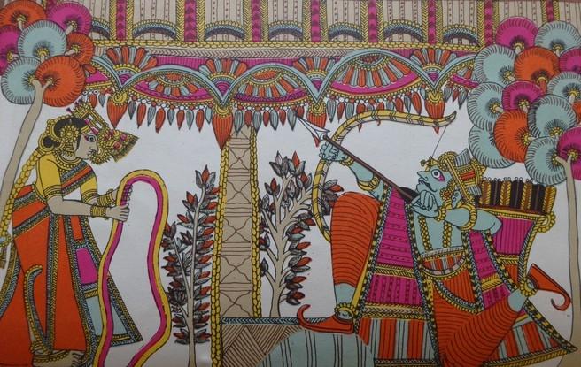 Paithan Ramayana, B.N. Goswamy, Oral Ramayana