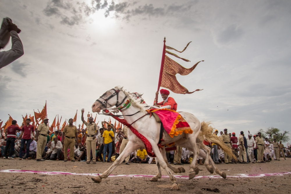 Pandharpur Wari, Indian pilgrimage, courtesy: Saurabh Chatterjee / Flickr