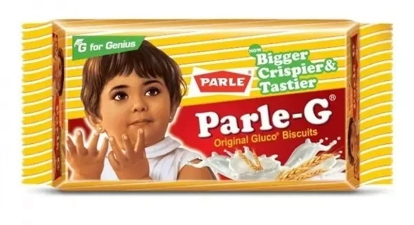 Parle girl, Parle G girl, parle g glucose biscuits, iconic indian advertising icons