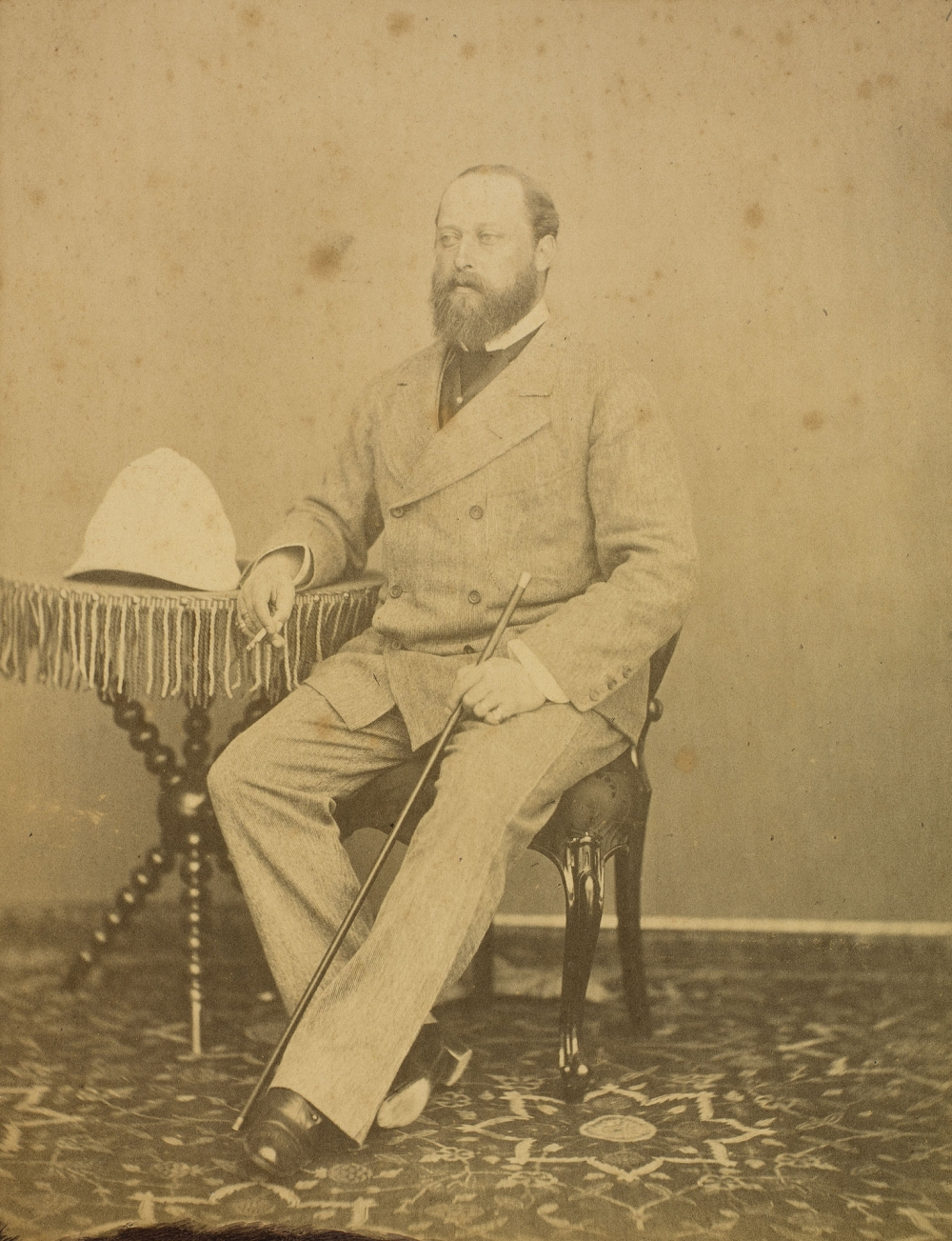 Photo of Prince of Wales (1841-1910) by RAM SINGH II, Photo: Royal Collection Trust/© Her Majesty Queen Elizabeth II 2021