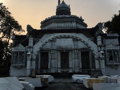 Fig. 13: Reconstruction of a Jain temple, Azimganj (Courtesy: Mrinalini Sil)
