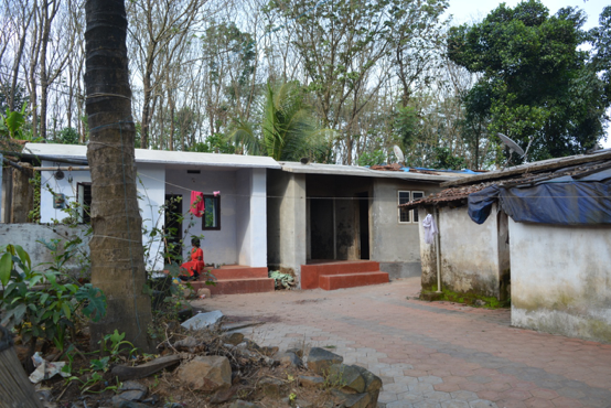 Fig. 3. A Paniya colony in Wayanad (Courtesy: Vasundhara Krishnan)