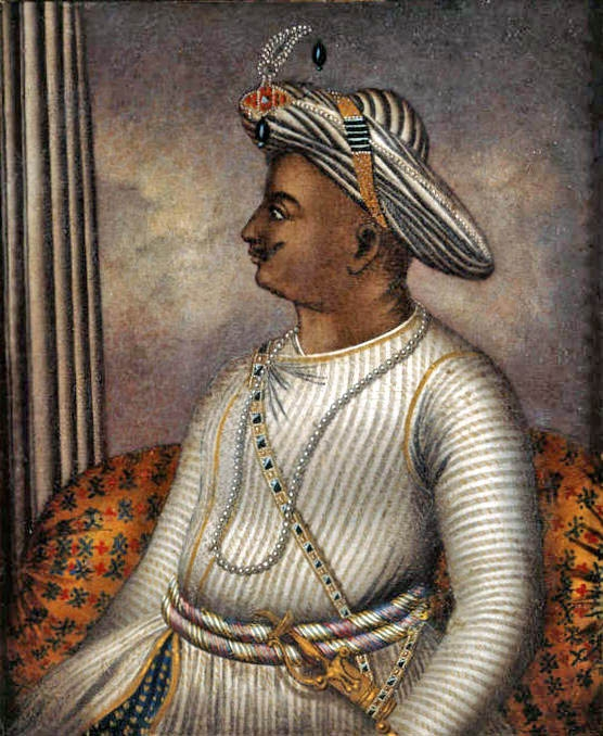 Portrait of Tipu Sultan once owned by Richard Colley Wellsley, now in the care of the British Library_BL WC