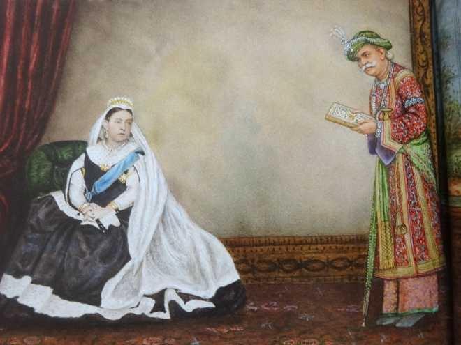 Queen Victoria, Maharaja Ranjit Singh, B.N. Goswamy