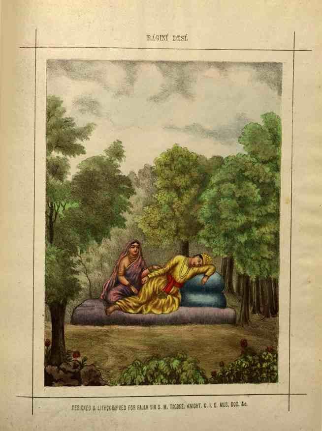 Ragini Desi is a variation associated with Raga Vasanta (spring season).