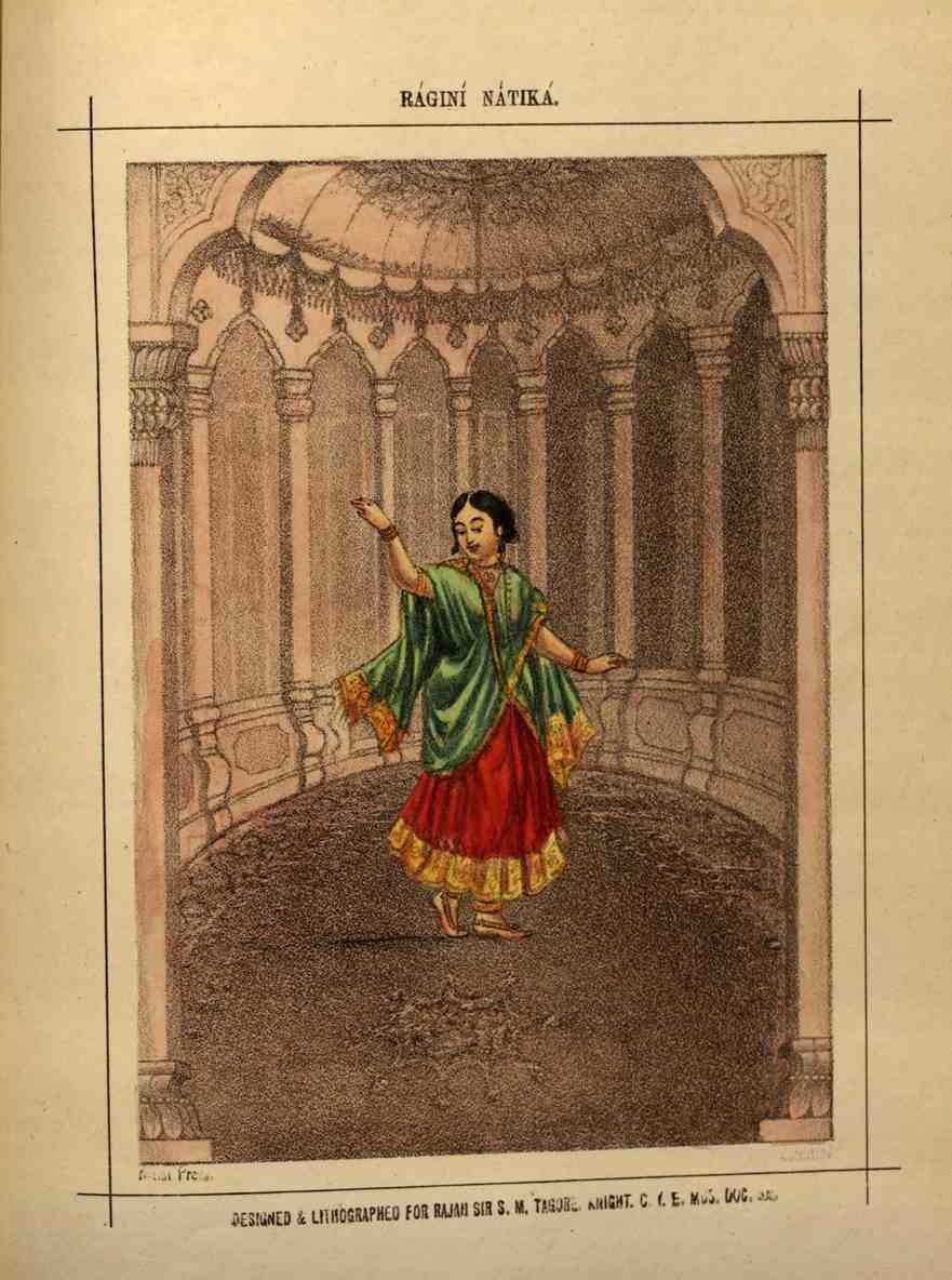 Ragini Natika a variation associated with Raga Natta Narayana (winter season).