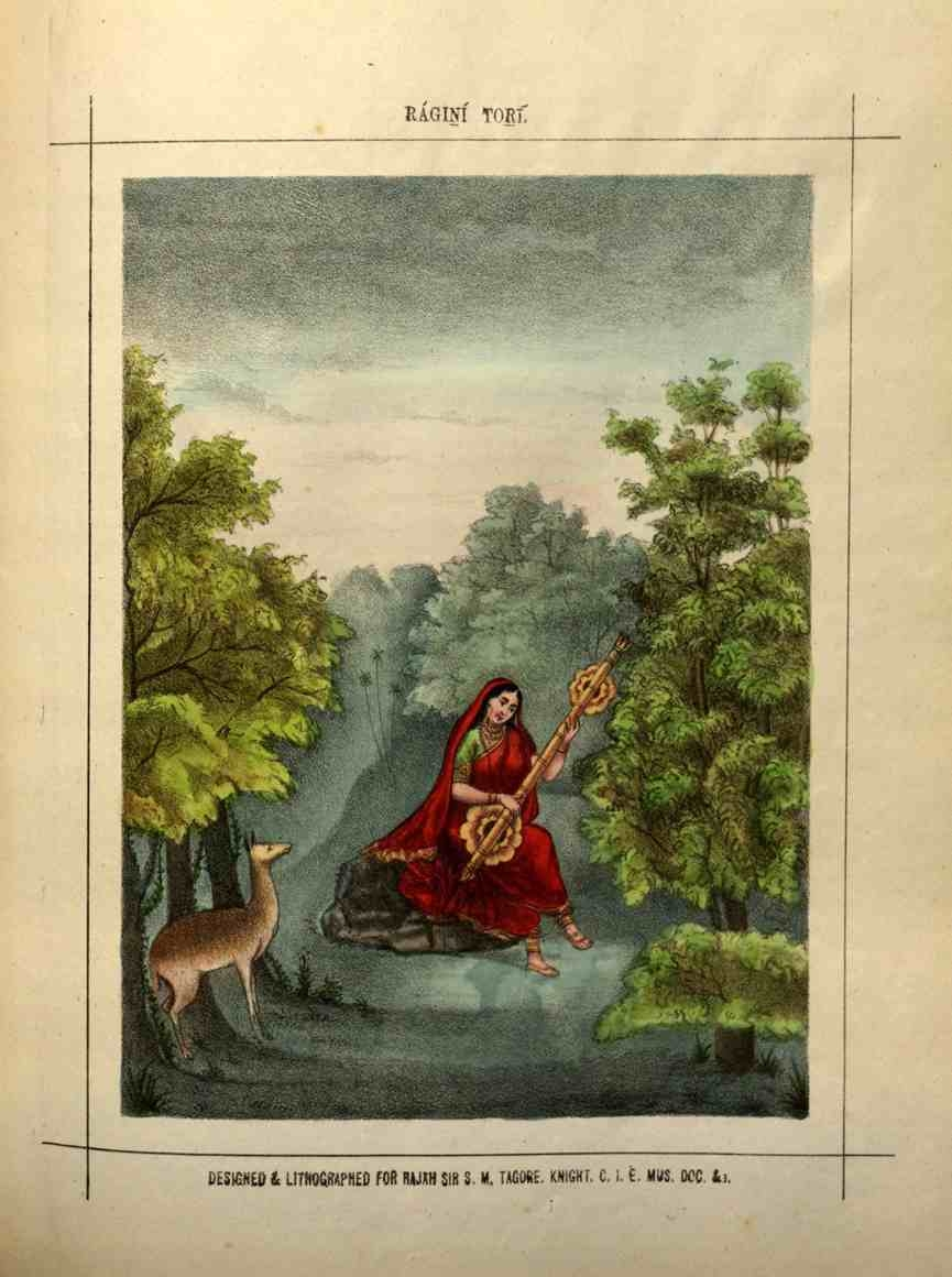 Ragini Tori is a variation associated with Raga Vasanta (spring season).
