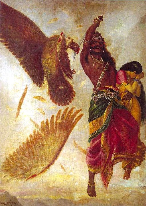 Ravana and Jatayu