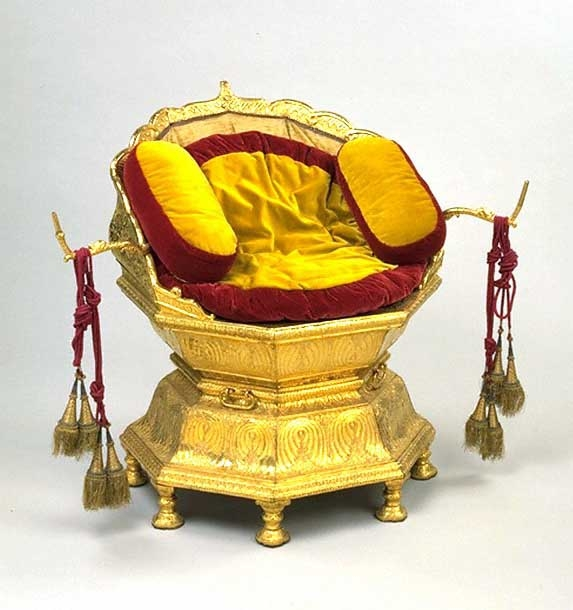 Golden Throne, Maharaja Ranjit Singh, Victoria and Albert Museum