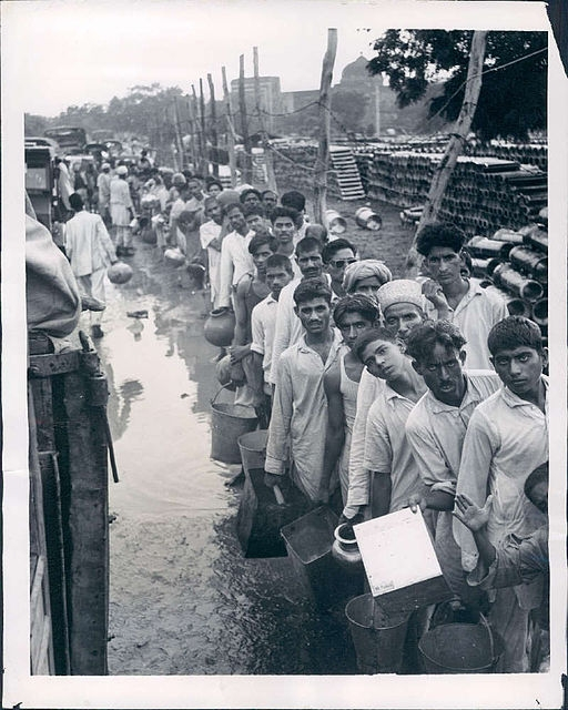 Refugees India, Partition