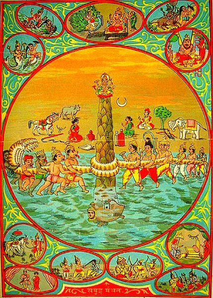 Samudra Mantha, Soma, Hindu Mythology