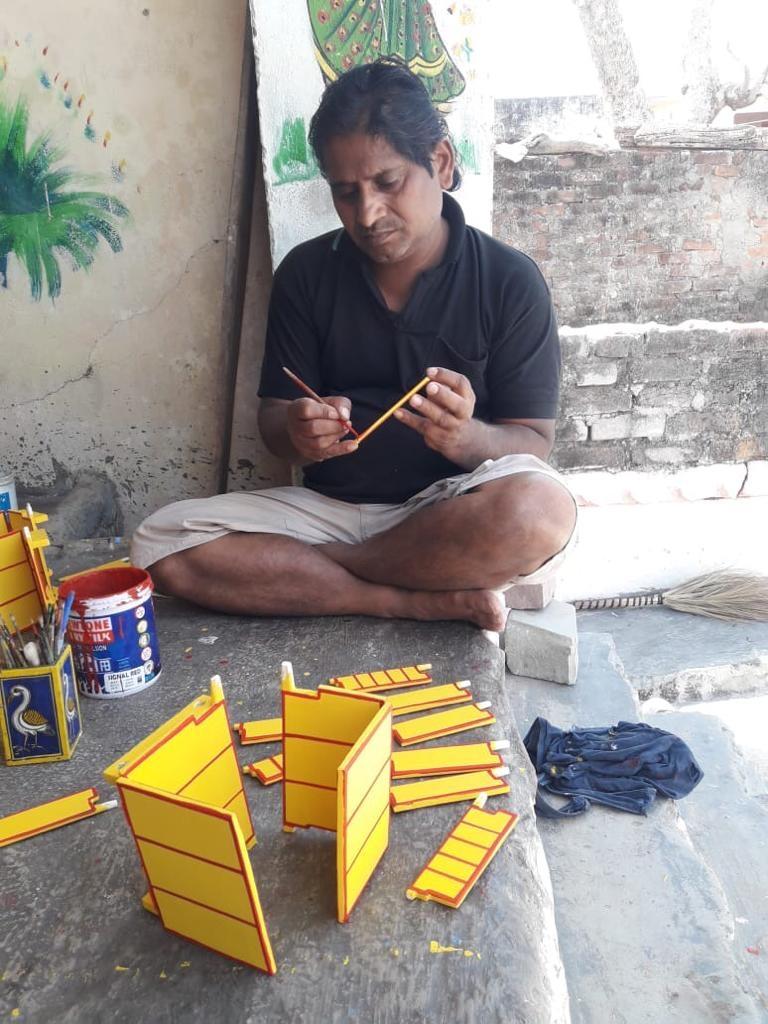 kaavad baanchana, kaavad rajasthan, storytelling, Courtesy: Satyanarayan ji Suthar