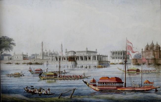 Boats, Nawab of Murshidabad, B.N. Goswamy