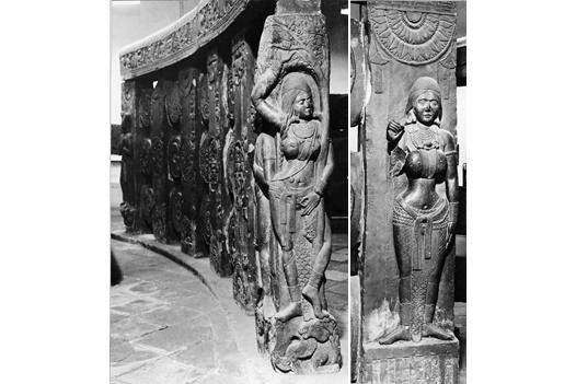 Surasundaris, Silpa Prakasa, Indian temple architecture, Chanda Yakshi, Sirima Devata, Bharhut