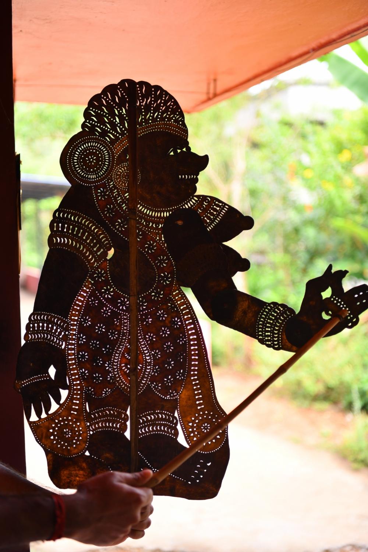 Surpanakha Puppet
