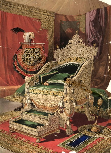 Travancore, Ivory Throne, Raja Marthanda Varma