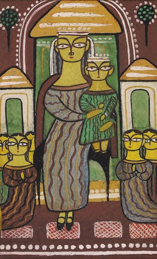 Jamini Roy, Mother in Indian Art, DAG