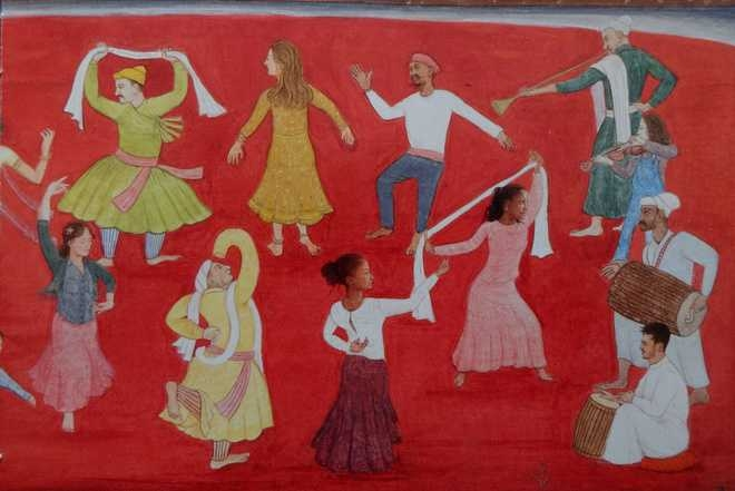 With gay abandon - Pandit Seu's Villagers Dancing (with my mates) 2017_The Tribune