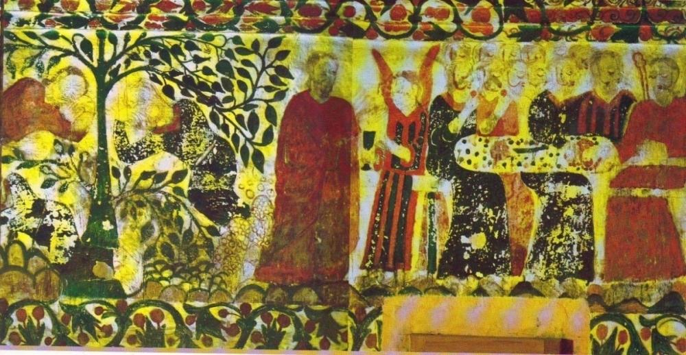 Fig 13: The Last supper  (Courtesy: R. Ramachandran 2005)