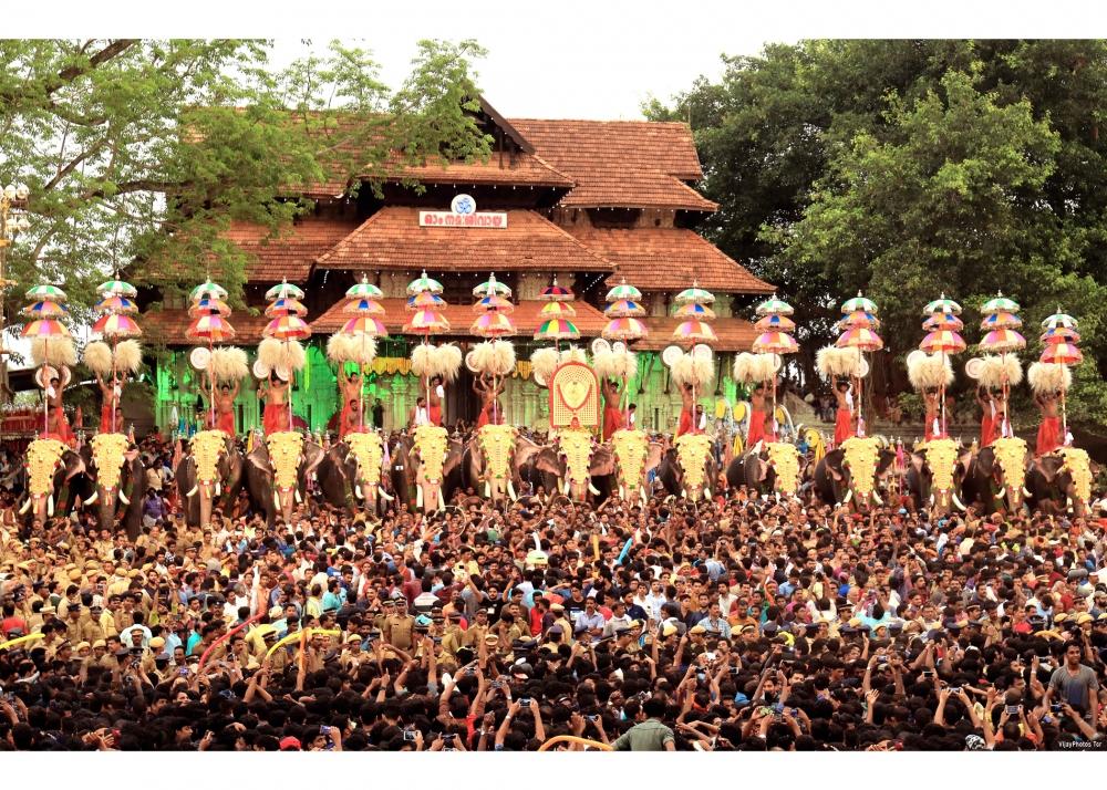 The Thiruvanmbadi Pageant. Image Courtesy: Anil Vijay.