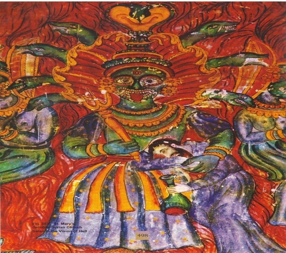 Fig 4: Head of the Devil (Courtesy: R. Ramachandran 2005)