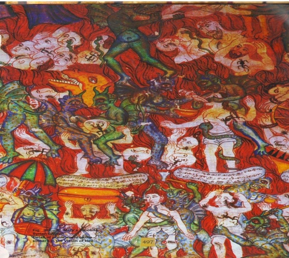 Fig 5: Scene of Hell (Courtesy: Roy Thottathil2012)