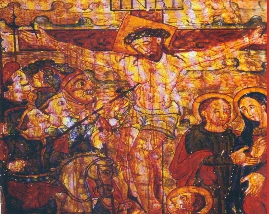 Fig 6: Crucifixion (Courtesy: R. Ramachandran 2005)
