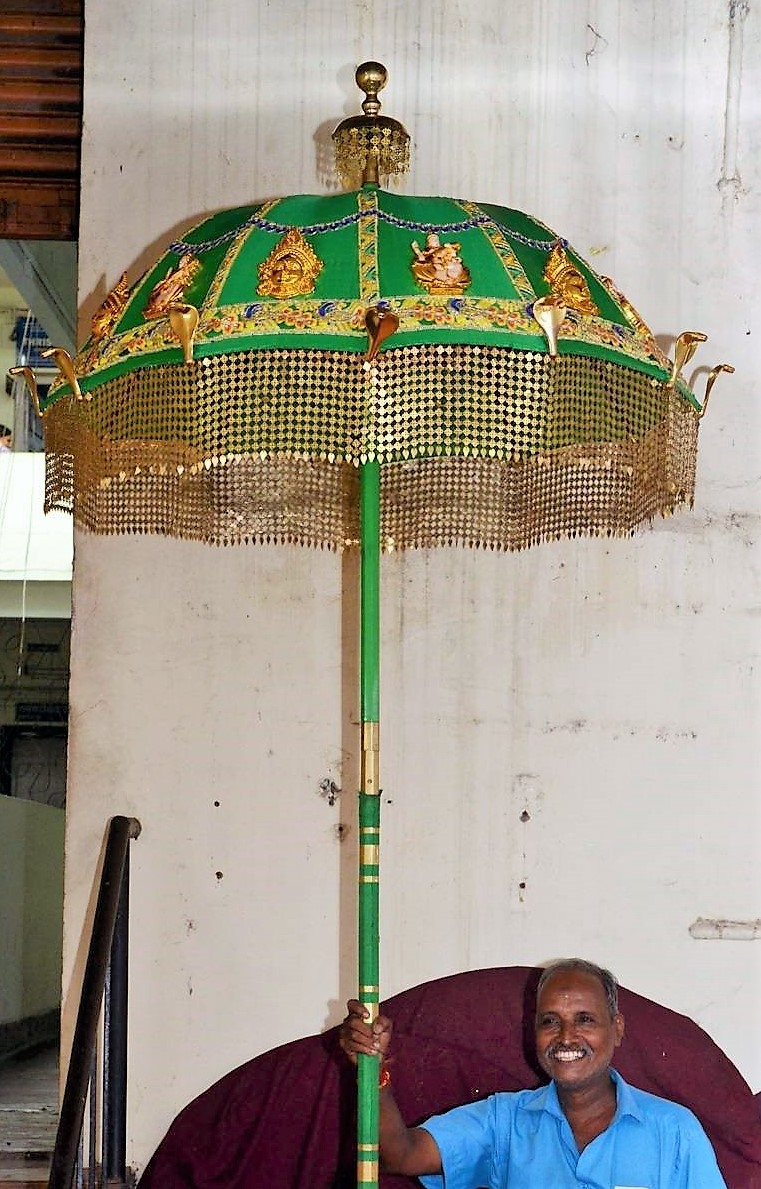 Silk parasol. Image Courtesy: Anil Vijay.