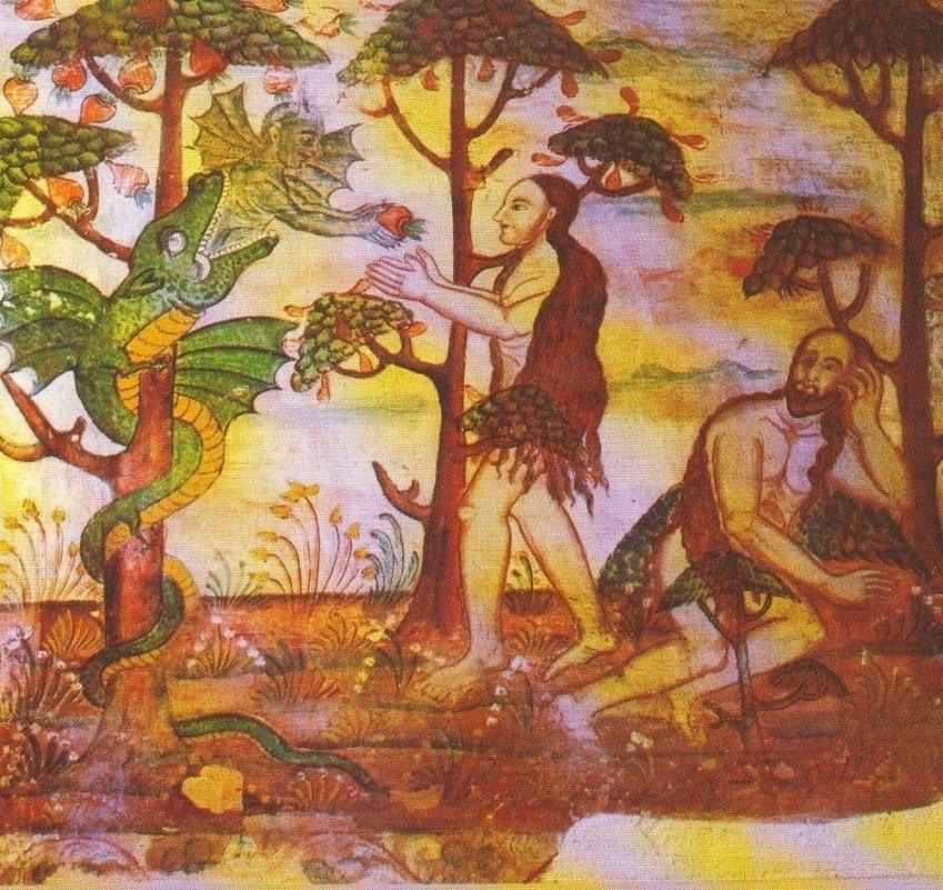 Fig 8: Adam and Eve (Courtesy: R. Ramachandran 2005)