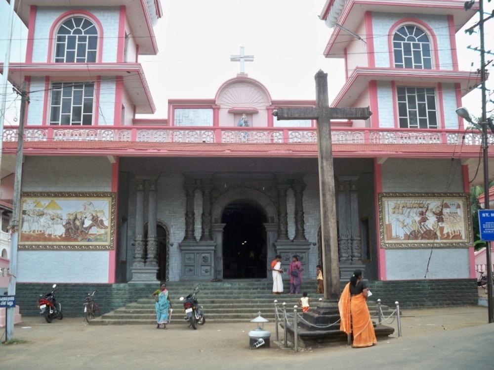 Fig: 9: St. Mary's Church at Kanjoor (Courtesy: Cyriac)