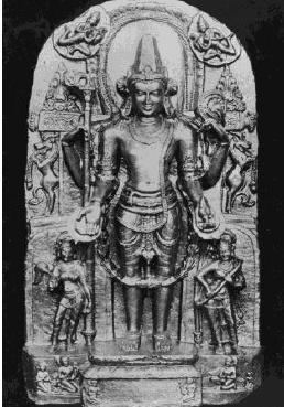 Fig. 5: Baghaura Vishnu Image