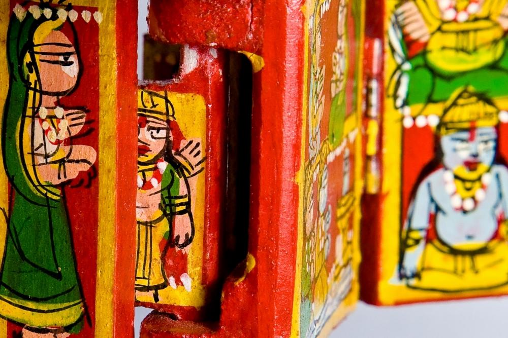 kaavad baanchana, kaavad rajasthan, storytelling, Courtesy: Saad Akhtar/Flickr