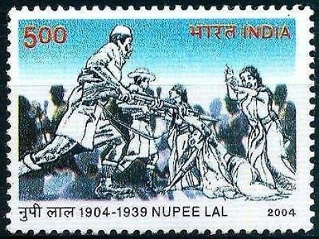 Nupi Lan Stamp, Manipur women's war, women's protest india