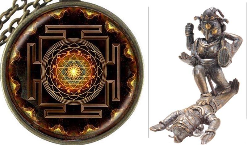 Sri Chakra, Dasamahavidyas, Shakti overwhelming Shiva