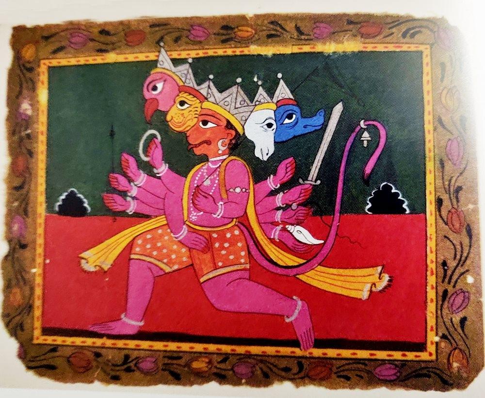 hanuman, panchmukhi hanuman, who is hanuman, hanuman history