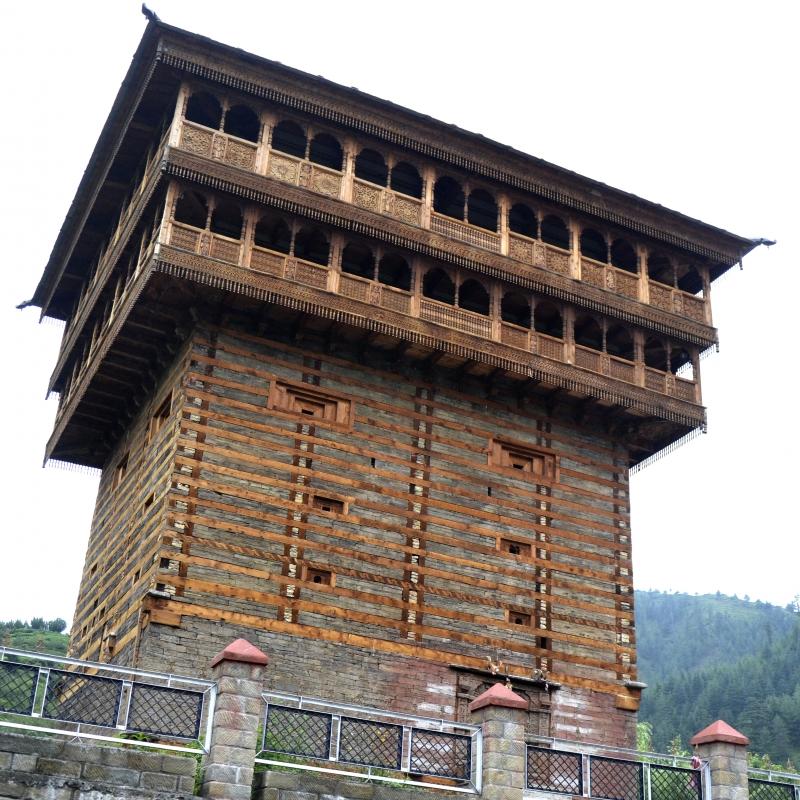 The Himalayan Vernacular: Kath-Khuni Architecture   Sahapedia