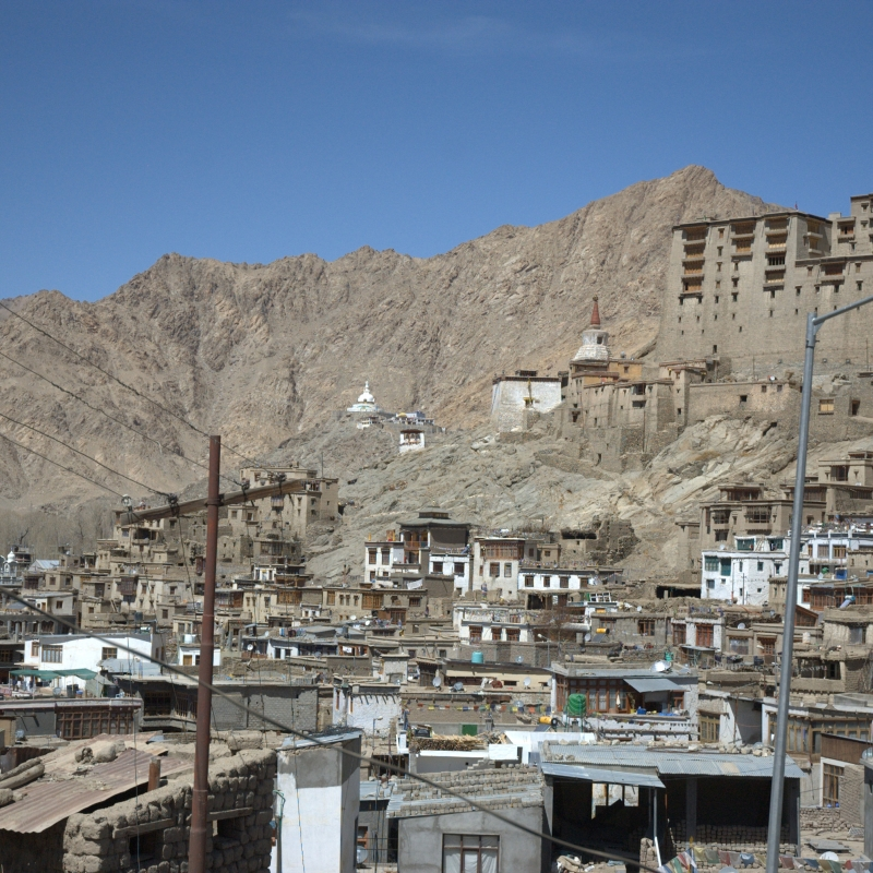 The Old Town Leh, Ladakh (Photograph by Tashi Morup, 2014; courtesy LAMO Visual Archive)
